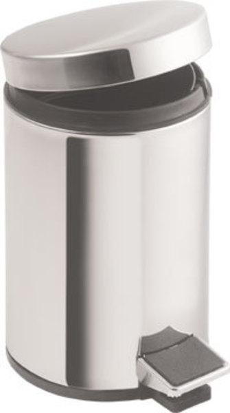 SAPHO SIMPLE LINE odpadkový koš kulatý 20l, leštěná nerez 27120