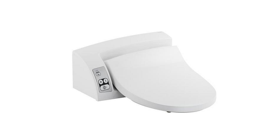 GEBERIT AQUA CLEAN 5000plus- sedátko pro elektronický bidet Alpská bílá 146.110.11.2