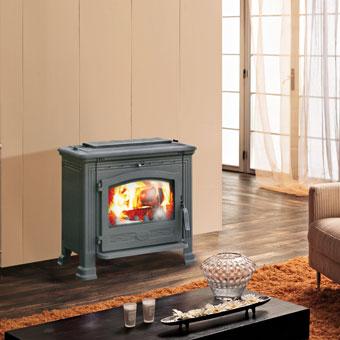 EDILKAMIN CLASSIC 2 teplovzdušná krbová kamna na dřevo 435400
