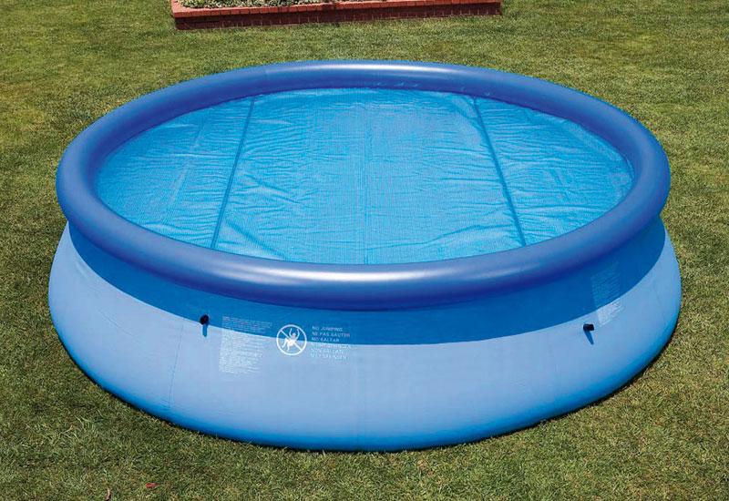 Solární plachta modrá 3,05 m pro bazény Tampa 3,66 m / Florida 3,05 m, 036052