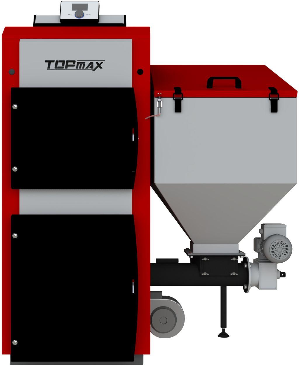 TOPmax EKO II 17 Automatický kotel na uhlí a pelety TOP447-17-101
