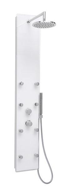 RAVAK Totem JET GLASS hydromasážní panel X01452