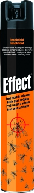 UNICHEM Effect univerz. insekt. na létající i lezoucí hmyz 400ml 40095UN