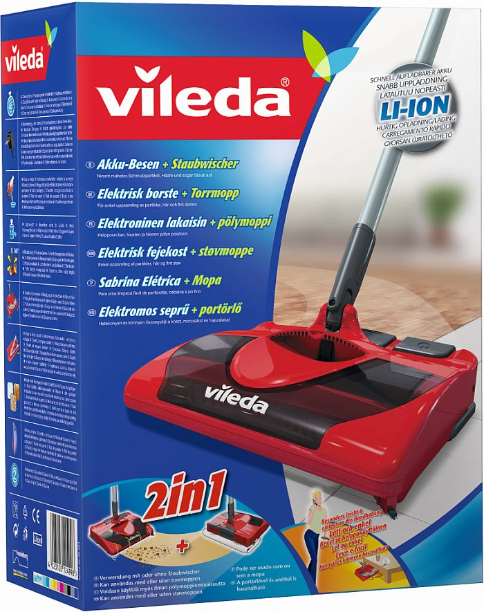 VILEDA E-sweeper elektrický smeták 143603